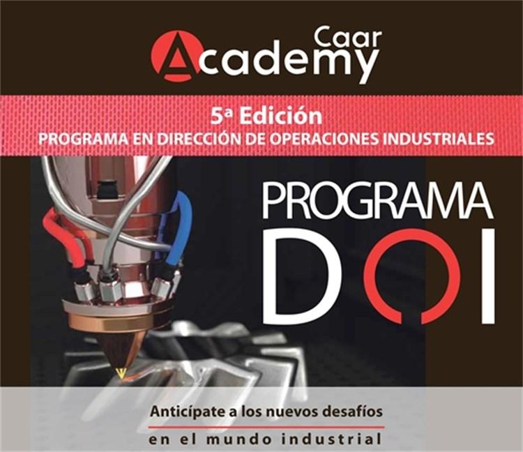 Programa en Dirección en Operaciones Industriales. DOI.