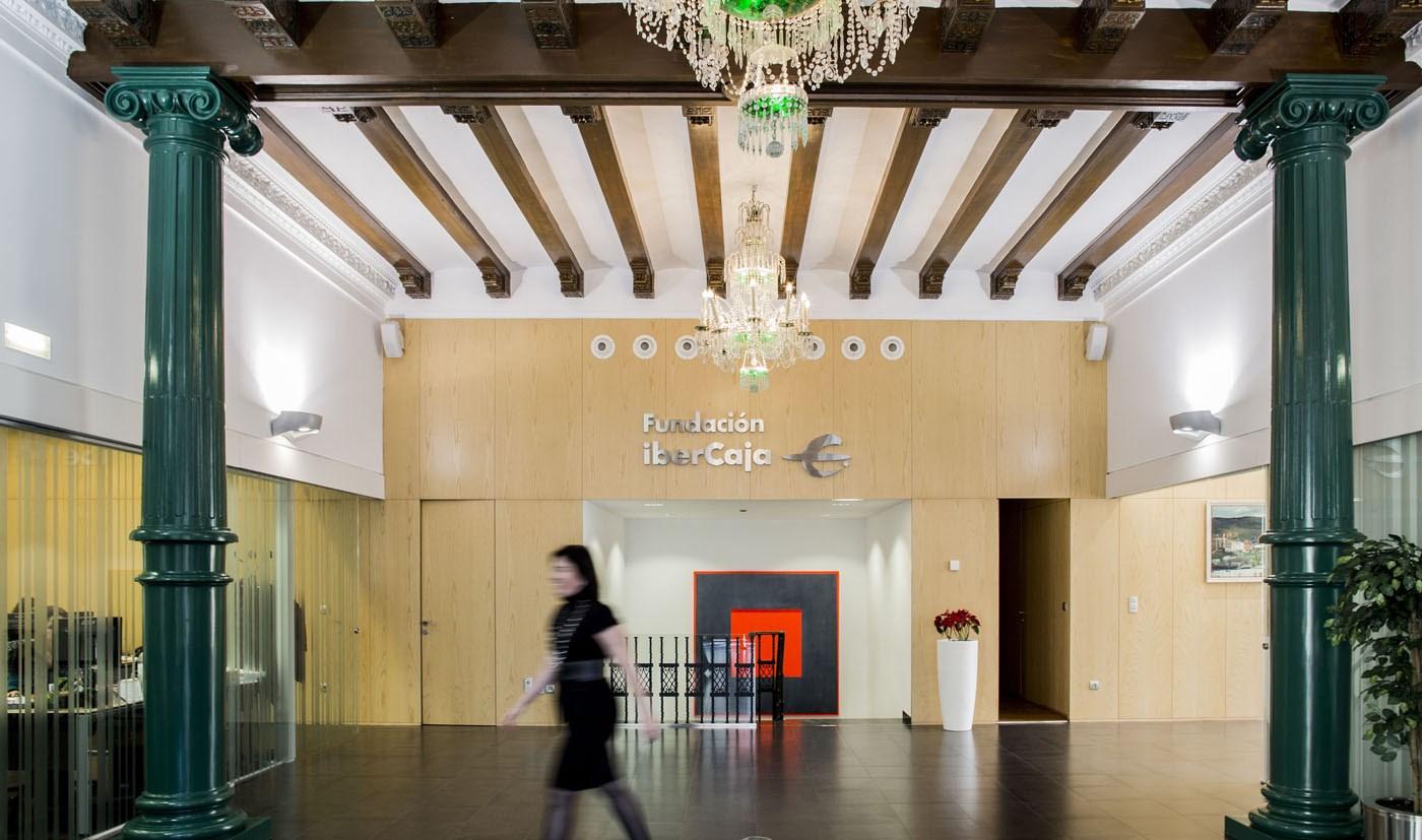Fundación Ibercaja. Sede Central.