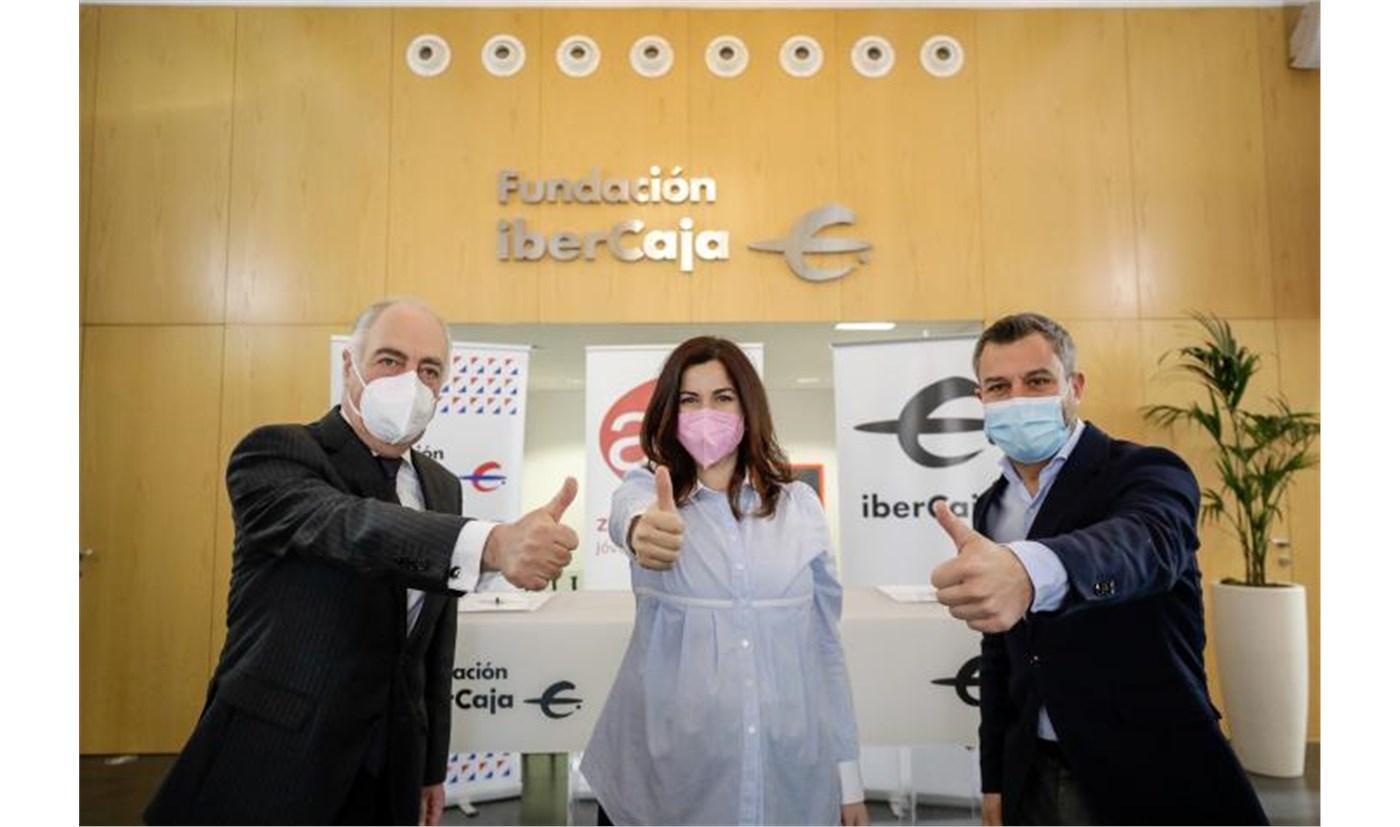 Ibercaja, Fundación Ibercaja y AJE Zaragoza, alianza estratégica para impulsar el espíritu emprendedor en Aragón
