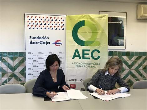 Fundación Ibercaja y la Asociación Española para la Calidad contribuyen al impulso de una nueva profesión: Delegado de Protección de Datos