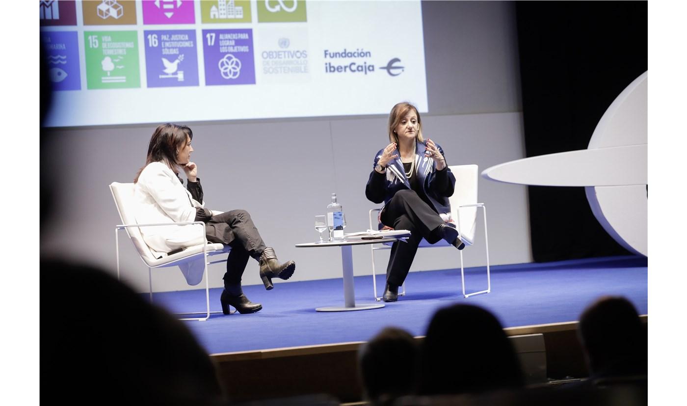 """""""Cuenta atrás hasta el 2030"""". La Alta Comisionada del Gobierno de España para la Agenda 2030 ha abierto en Ibercide la IV Jornada de RSC"""