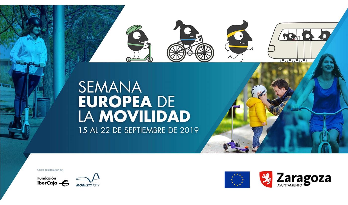 Mobility City de Fundación Ibercaja colaborador directo en la Semana Europea de la Movilidad que organiza el Ayuntamiento de Zaragoza