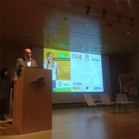 Jornada de presentación del Programa eNCUENTRA-IDIA de capacitación digital para jóvenes