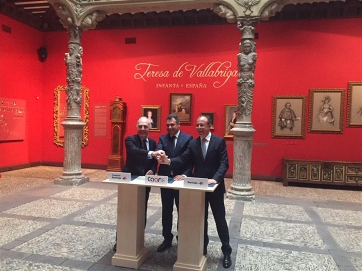 Acuerdo de Colaboración entre Fundación Ibercaja, Ibercaja Banco y el Clúster de Automoción de Aragón (CAAR)