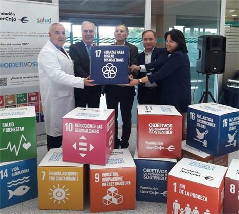 Fundación Ibercaja acompaña al hospital Miguel Servet de Zaragoza en su andadura hacia la Agenda 2030 de Naciones Unidas